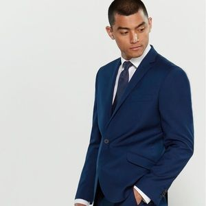 Blue Kenneth Cole Stretch Modern Fit Suit jacket